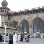 The mosque by Charminar