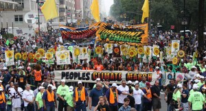 The Climate March in NYC and in many other cities demonstrated how thousands of people across the world are demanding real climate action from our governments