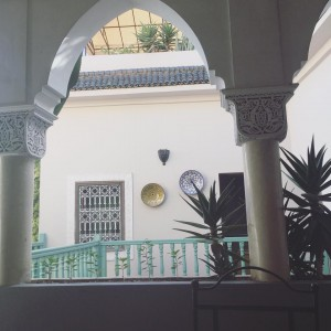 Beautiful view from my riad